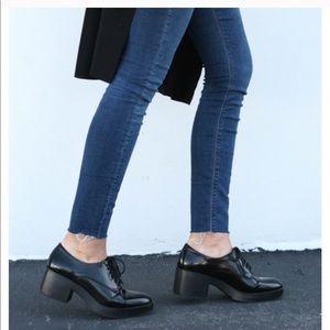 Zara Trafaluc || Platform Blucher Oxford Shoe